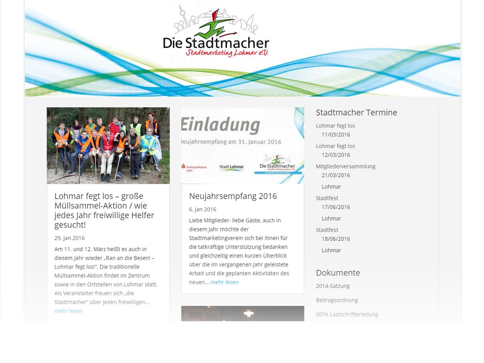 Die Stadtmacher - Stadtmarketing Lohmar